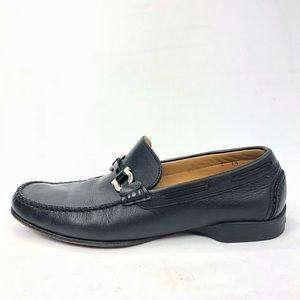 Salvatore Ferragamo 7.5 Loafers Horsebit Leather